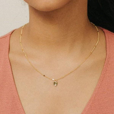 Everly Circle Necklace | boogie + birdie