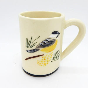 Chickadee Ceramic Mug | Top | boogie + birdie