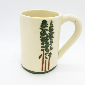 Cedar Trees Ceramic Mug | Top | boogie + birdie