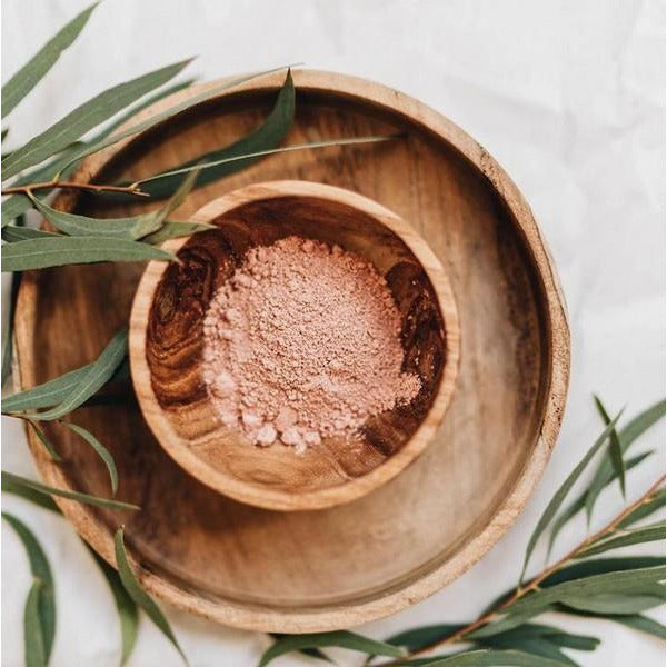 Floral Pink Clay Face Mask | boogie + birdie