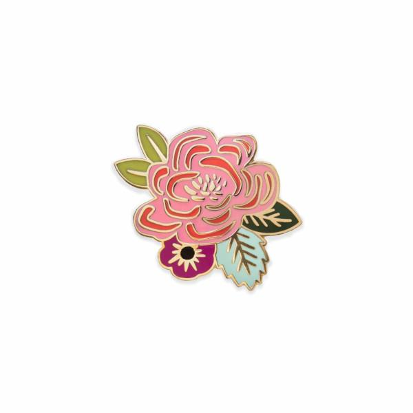 Juliet Rose Enamel Pin | Card Backing | boogie + birdie