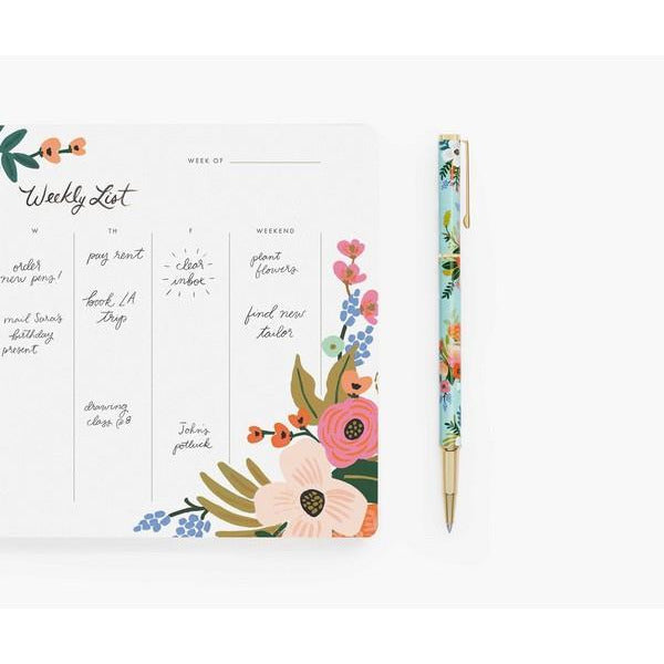 Lively Floral Writing Pen | boogie + birdie