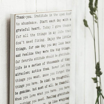 Nature Typewriter Wall Art | boogie + birdie