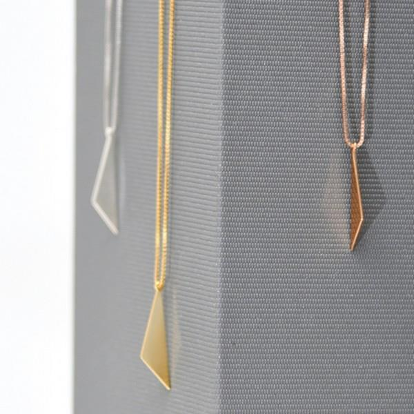 Silver Slice Necklace | boogie + birdie