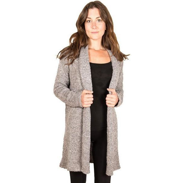 Black Cozy Long Cardigan | boogie + birdie