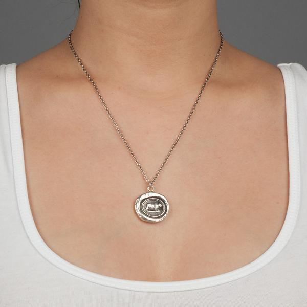 Mother Bear Talisman Necklace | boogie + birdie