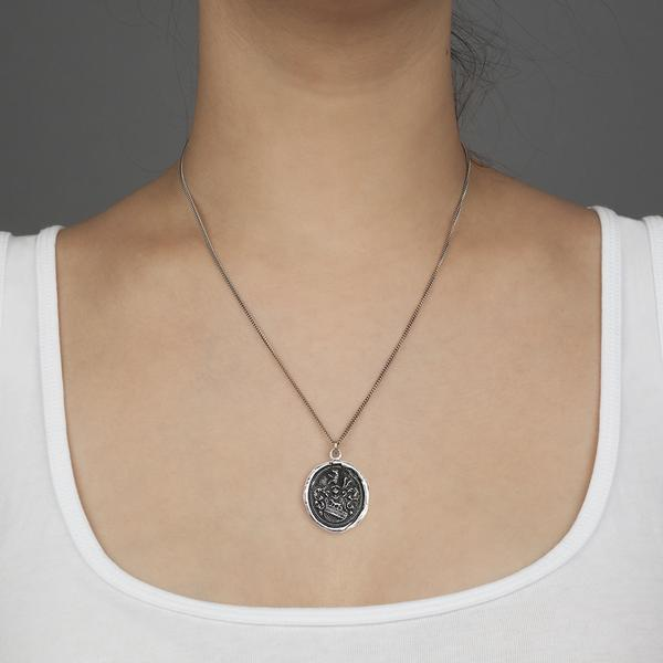 Heart of the Wolf Talisman Necklace | boogie + birdie