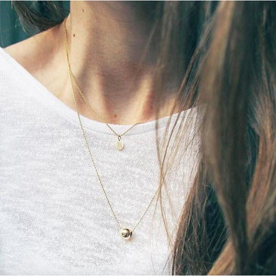 Silver Zen Necklace | boogie + birdie