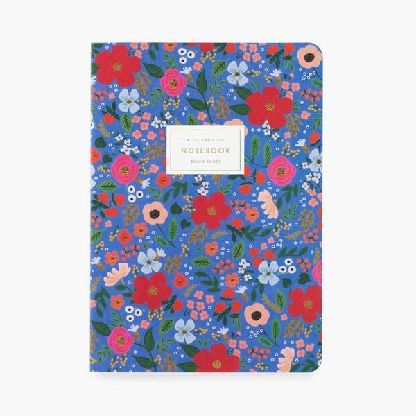 Wild Rose Stitched Notebook Set | boogie + birdie