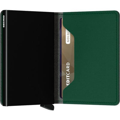 Yard Green Non-leather Slimwallet | boogie + birdie