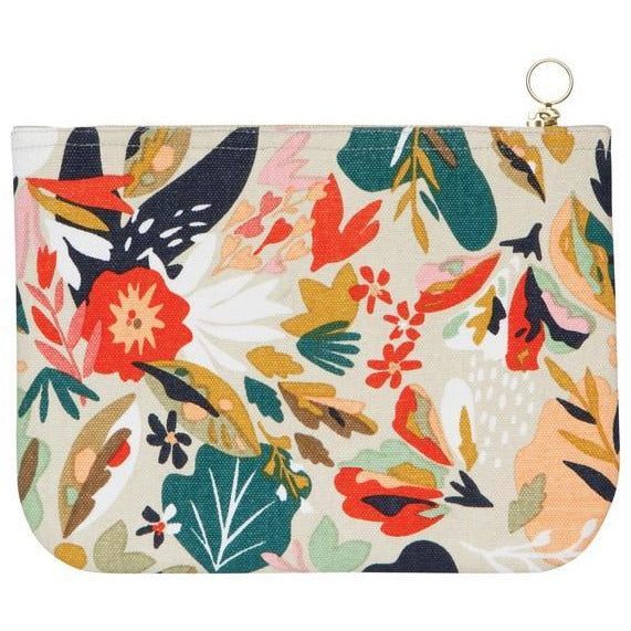 Superbloom Large Zipper Pouch | boogie + birdie