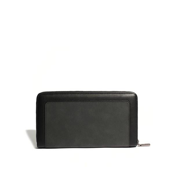 Black Emma Zip Around Wallet | boogie + birdie