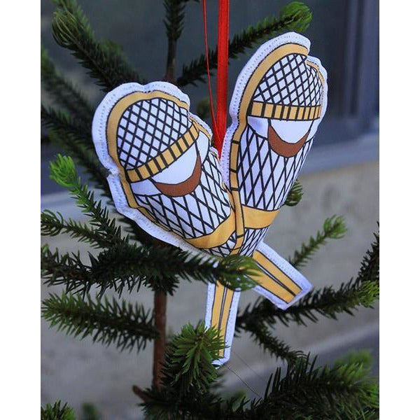 Snow Shoes Ornament | boogie + birdie