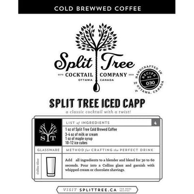 Cold Brew Coffee Cocktail + Soda Mix | boogie + birdie