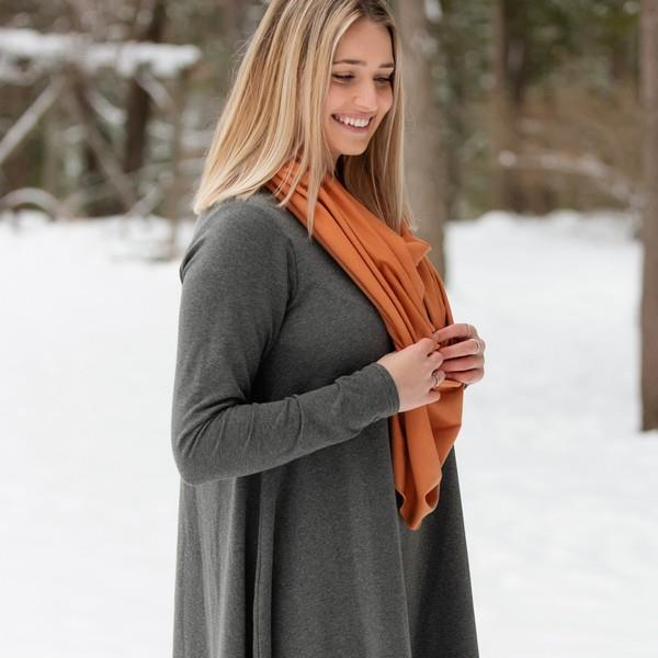 Whiskey Bamboo Poncho | boogie + birdie