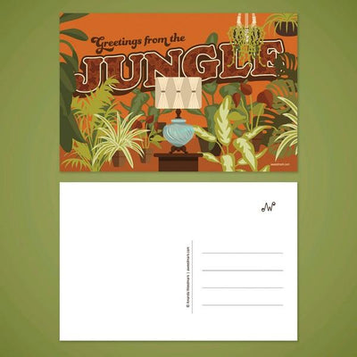 Greetings from the Jungle Postcard | boogie + birdie