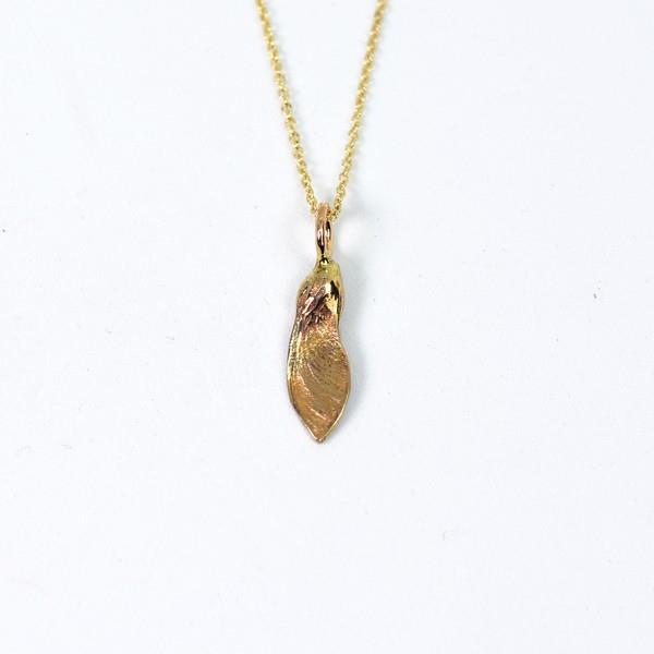 Bronze Maple Seed Necklace | Brelokz | boogie + birdie