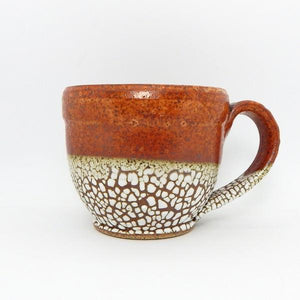 Copper Bubble Ceramic Latte Mug | Front | boogie + birdie