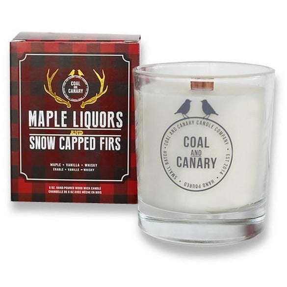 Maple Liquors + Snow Capped Firs Candle | boogie + birdie