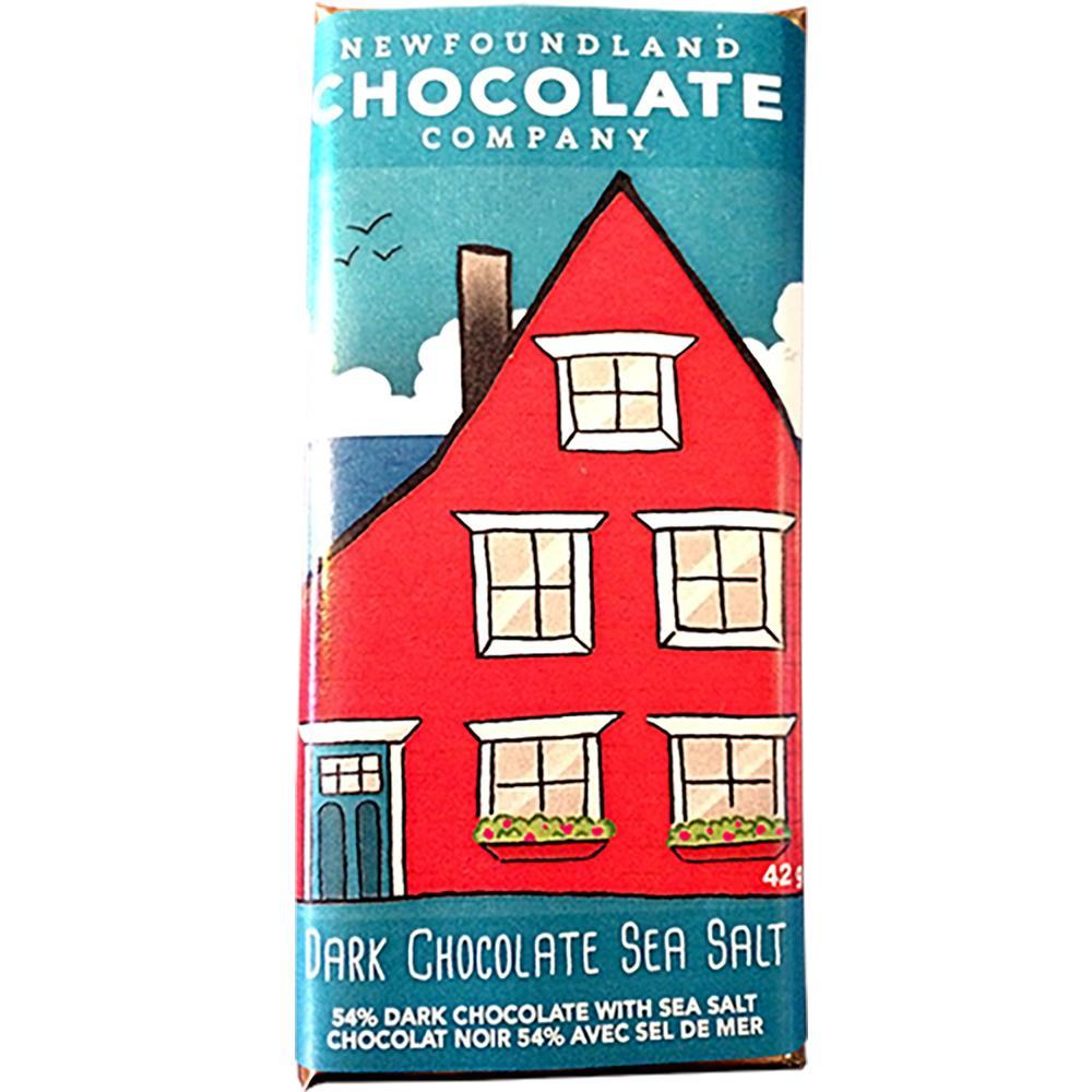 54% Dark Chocolate Sea Salt Bar