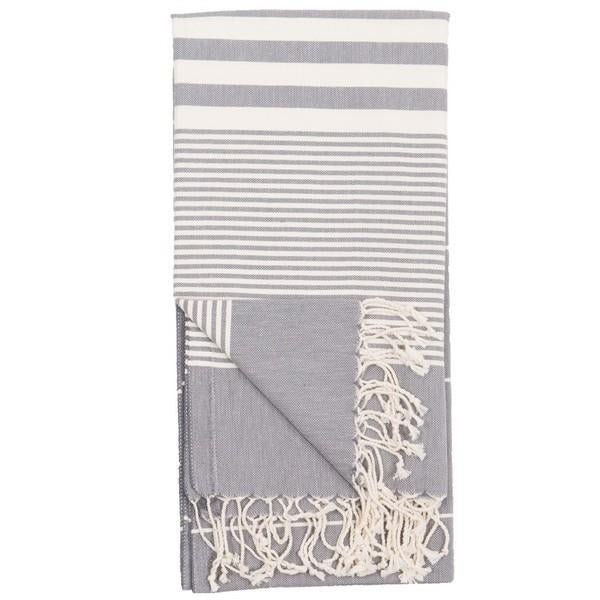 Harem Slate Turkish Towel | boogie + birdie