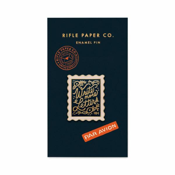 Stamp Enamel Pin | Card Backing | boogie + birdie