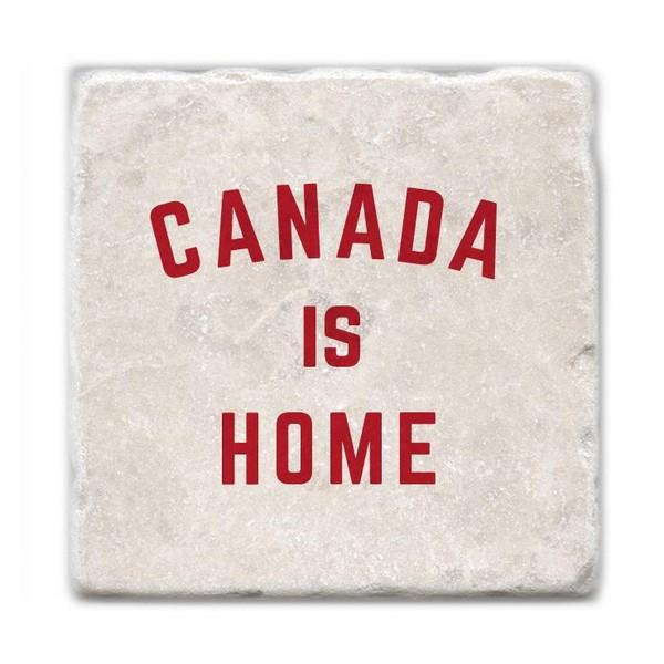 Canada Is Home Marble Coaster | boogie + birdie
