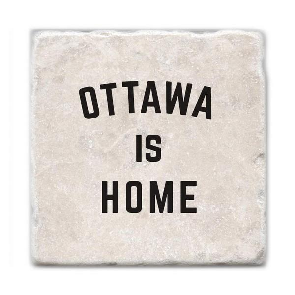Ottawa Is Home Marble Coaster | boogie + birdie
