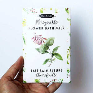 Honeysuckle Milk Bath Soak | boogie + birdie
