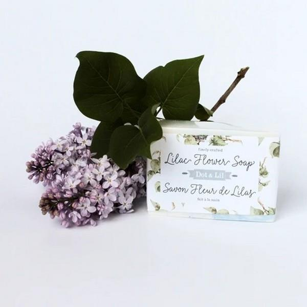 Lilac Flower Bar Soap | boogie + birdie