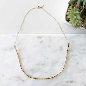 Gold Collar Necklace | boogie + birdie