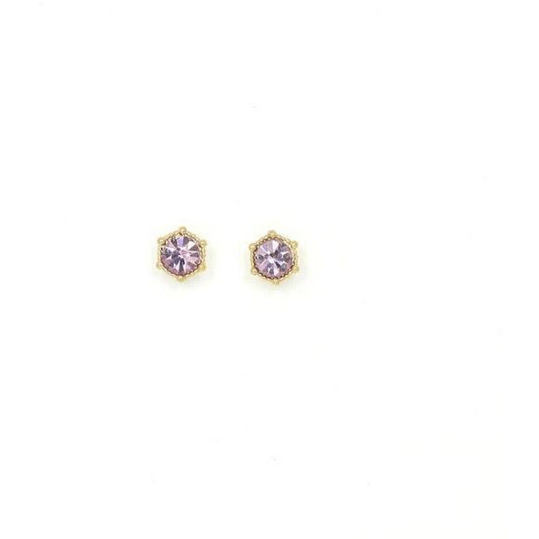 Light Amethyst Astrid Studs