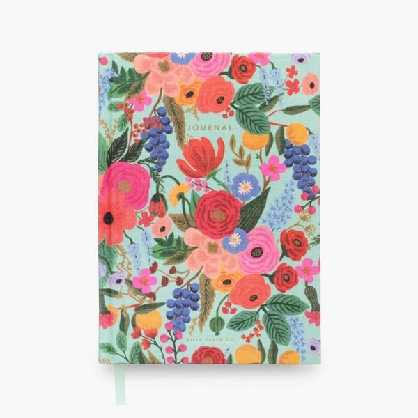 Garden Party Fabric Journal | boogie + birdie