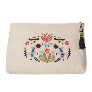 Frida Large Cosmetic Bag | boogie + birdie
