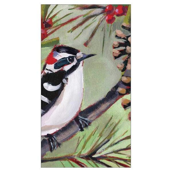 Winter Bird Guest Napkins | boogie + birdie