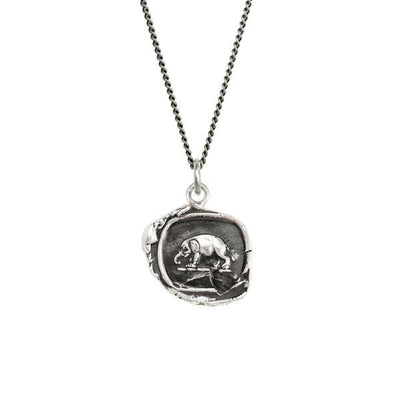 Elephant Talisman Necklace | boogie + birdie