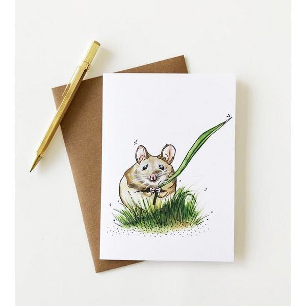 Field Mouse Card | boogie + birdie