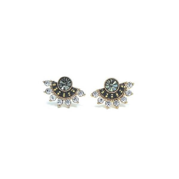 Black Diamond Nico Fan Earrings | boogie + birdie