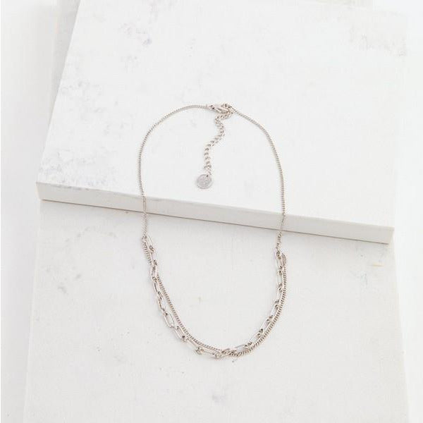 Silver Aya Necklace | boogie + birdie