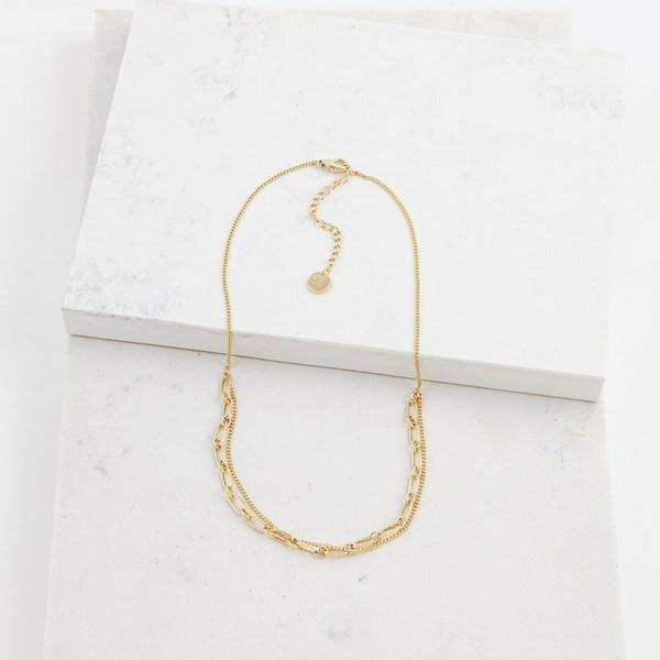 Gold Aya Necklace | boogie + birdie