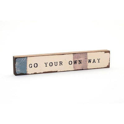 Go Your Own Way Large Timber Bit | boogie + birdie