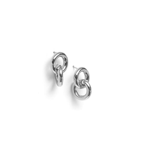 Silver Links Earrings | boogie + birdie