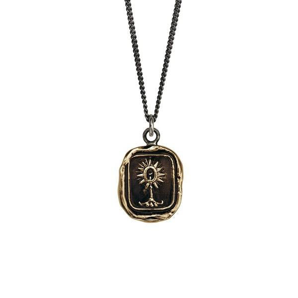 Unafraid Talisman Necklace | boogie + birdie