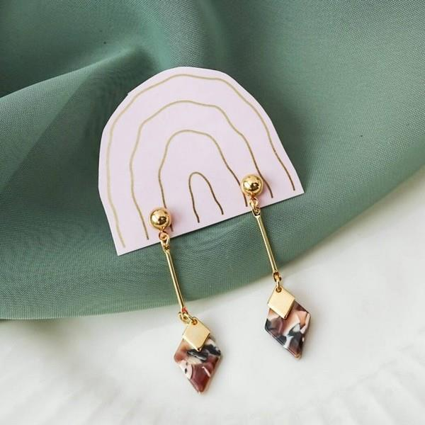 Mocha Jasmine Earrings | boogie + birdie
