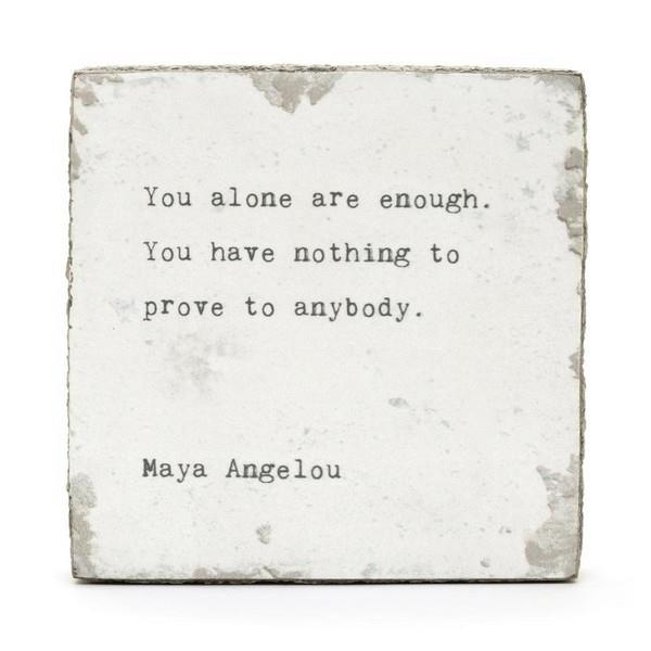 You Alone (Maya Angelou) Little Gem | boogie + birdie