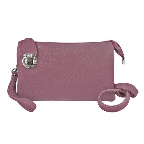 Lavender Multi-Pocket Crossbody | boogie + birdie