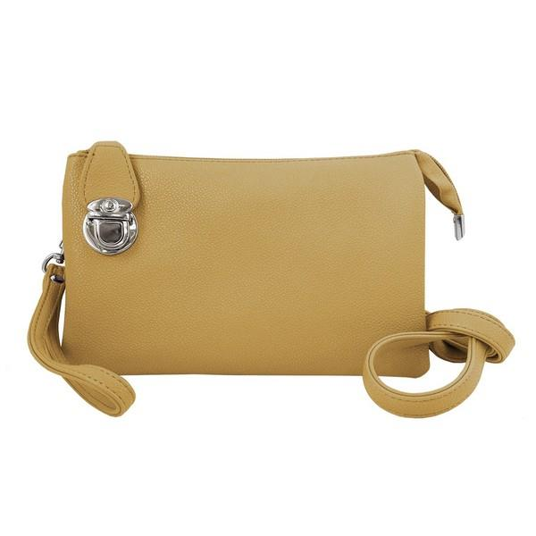 Yellow Multi-Pocket Crossbody | boogie + birdie