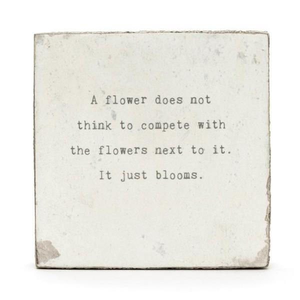 A Flower Does Not Little Gem | boogie + birdie
