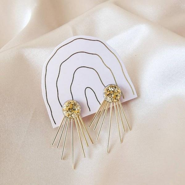 Gold Julia Ear Jackets | boogie + birdie