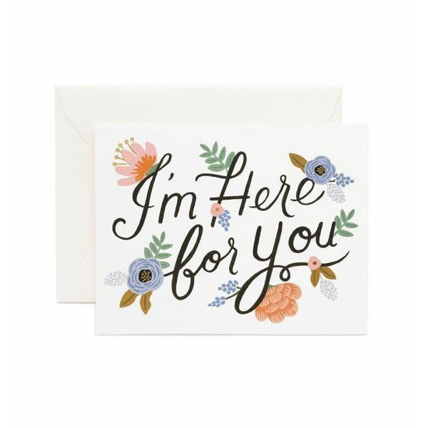 I'm Here For You Card | boogie + birdie
